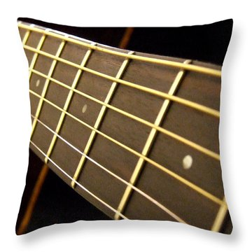 Throw Pillow featuring the photograph Golden Days by Andrea Anderegg