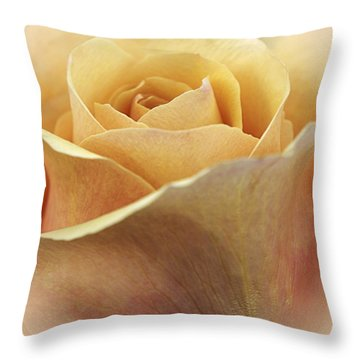 Golden Delicious Throw Pillow by Darlene Kwiatkowski