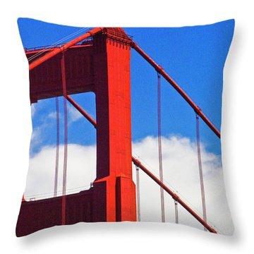 Golden Gate Bridge 2 Throw Pillow