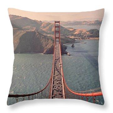 Golden Gate Bridge California Usa Throw Pillow