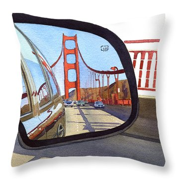 Bay Bridge Throw Pillows
