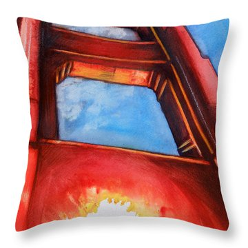 Golden Gate Light Throw Pillow