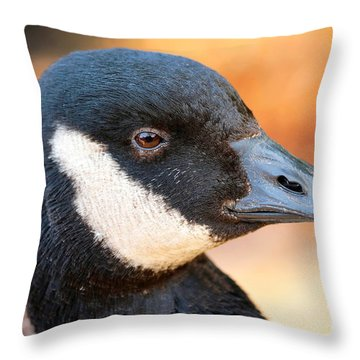 Golden Goose Throw Pillow