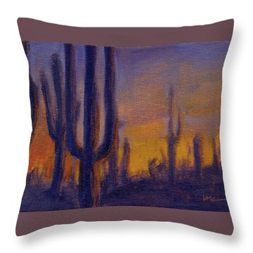 Golden Hours 2 Throw Pillow