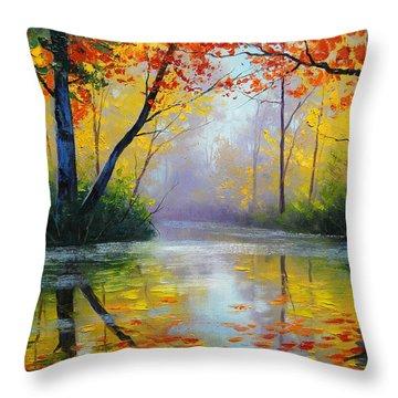 Maple Throw Pillows