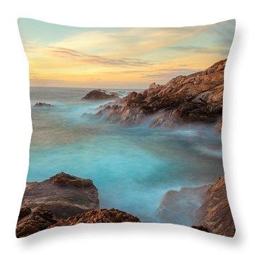 Golden Sky Throw Pillow by Jonathan Nguyen