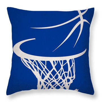 Golden State Warriors Hoop Throw Pillow