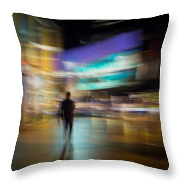 Throw Pillow featuring the photograph Golden Temptations by Alex Lapidus