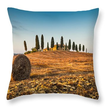 Golden Tuscany 2.0 Throw Pillow