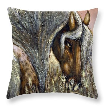 Golden Years Harvest Throw Pillow
