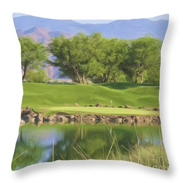 Golfers Lament - Alcatraz Throw Pillow