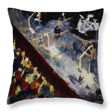 Gomez Throw Pillow by Stuart Engel