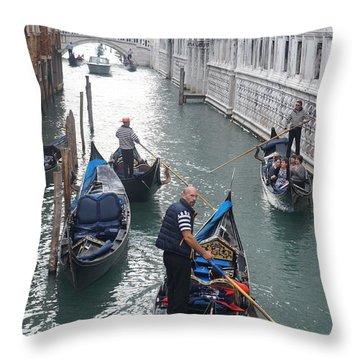 Gondola  Throw Pillow