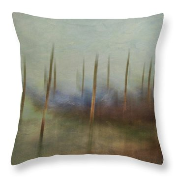 Gondolas 2  Throw Pillow