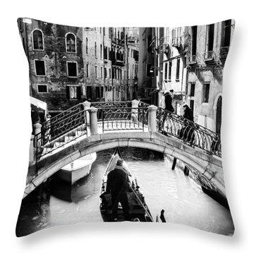 Gondolier Throw Pillow