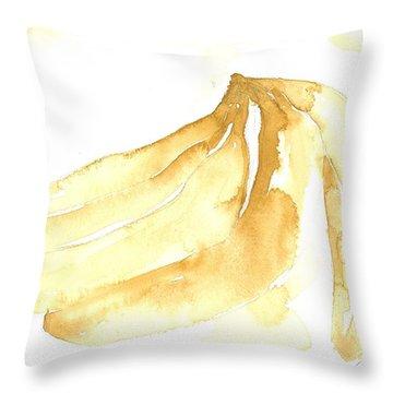 Gone Bananas 3 Throw Pillow