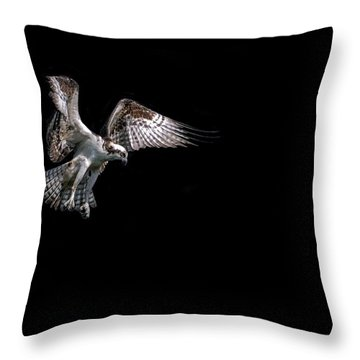 Gone Fishing Throw Pillow