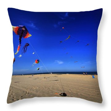 Gone Flyin Throw Pillow