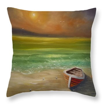 Gone For The Weekend Throw Pillow