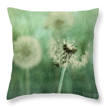 Gone Throw Pillow by Priska Wettstein