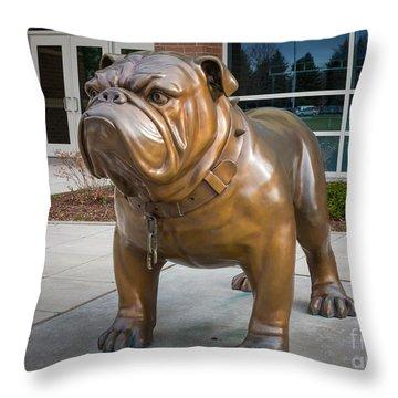 Gonzaga Bulldog Throw Pillow