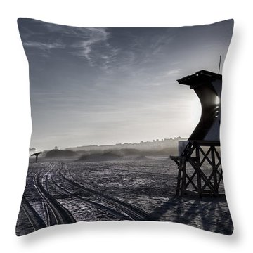 Good Day Surfing Throw Pillow