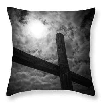 Good Friday Throw Pillow by Caitlyn  Grasso