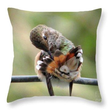 Good Grooming Throw Pillow