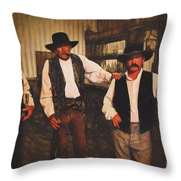Good Guys Wearing Black Hats  ... Throw Pillow