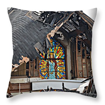Good Lord Throw Pillow