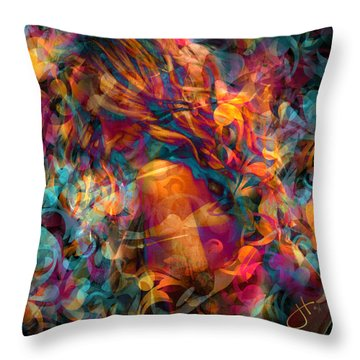 Good Lovin' Throw Pillow
