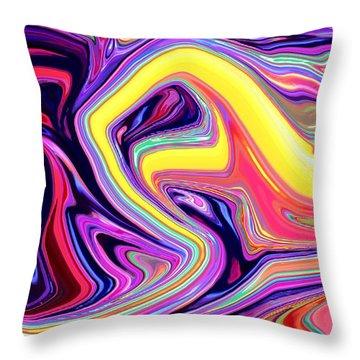 Good Meets Evil Throw Pillow by Chris Butler