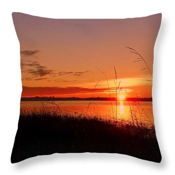 Throw Pillow featuring the photograph Good Morning ... by Juergen Weiss
