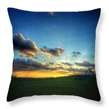 Good Morning :) Throw Pillow