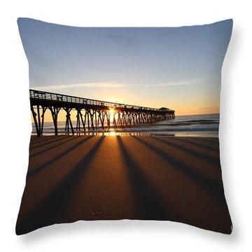 Myrtle Beach Sc State Park Throw Pillow