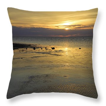 Good Morning Florida Keys V Throw Pillow
