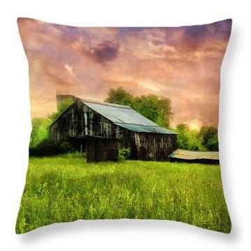 Good Morning Kentucky Throw Pillow