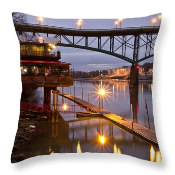 Good Morning Knoxville Throw Pillow