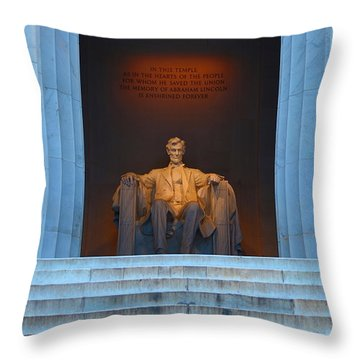 Good Morning Mr. Lincoln Throw Pillow