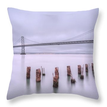 Good Morning San Francisco Throw Pillow