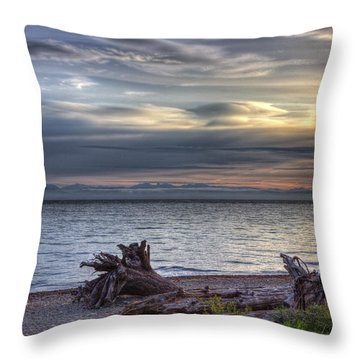 San Pareil Sunrise Throw Pillow