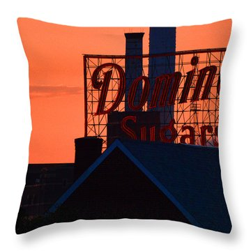 Throw Pillow featuring the photograph Good Morning Sugar by Bill Swartwout