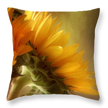Throw Pillow featuring the photograph Good Morning Sunshine by John Rivera