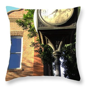 Throw Pillow featuring the photograph Good Morning Sunshine by Natalie Ortiz