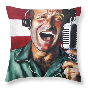 Good Morning Vietnam Throw Pillow