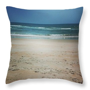 Good Ol' Flagler Beach Throw Pillow