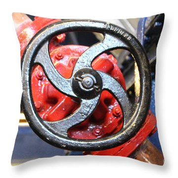 Good Old Fashioned Engineering  Throw Pillow by Lynn England