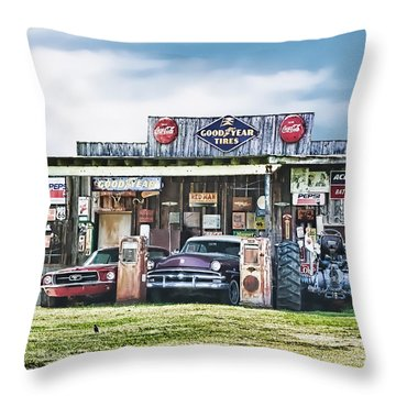 Good Times Not Forgotten Throw Pillow