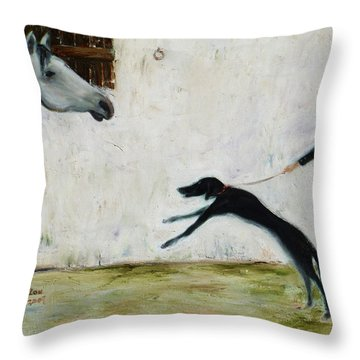 Good To See You Again Throw Pillow