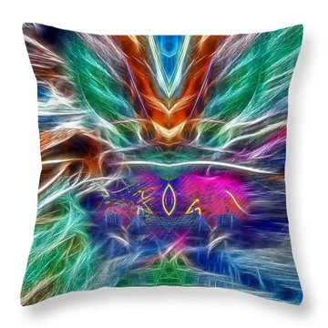Good Vibration Throw Pillow